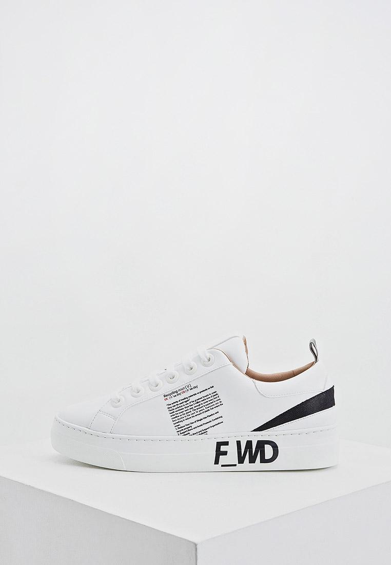 Женские кеды F_WD FW33050A.10074