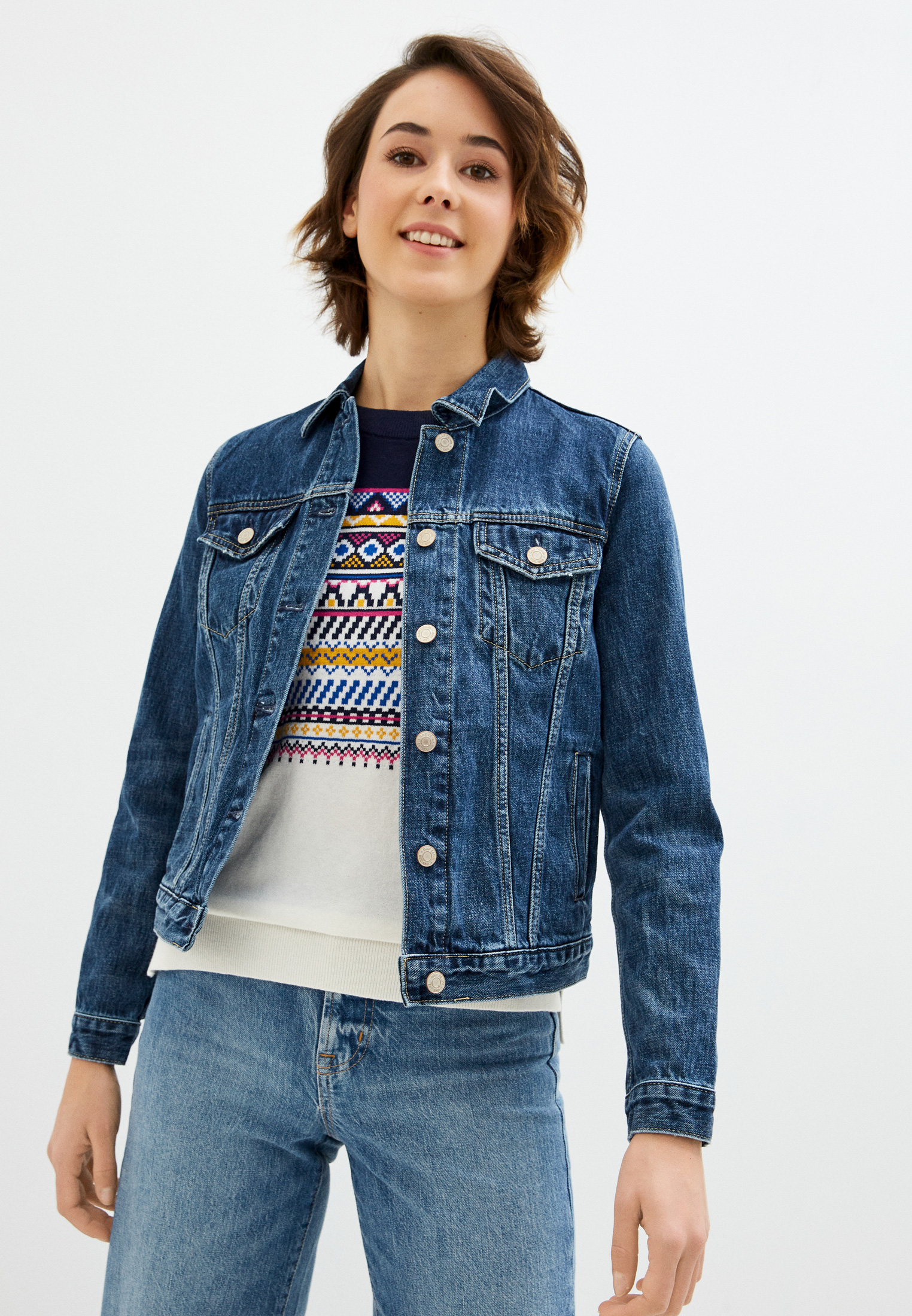 Джинсовая куртка Gap 610491: изображение 1