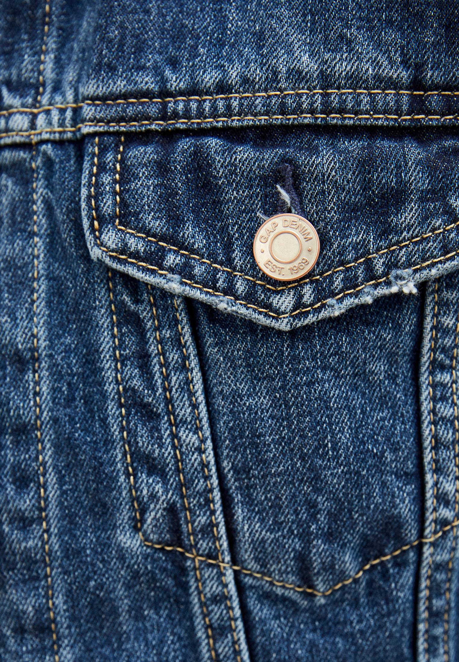 Джинсовая куртка Gap 610491: изображение 4