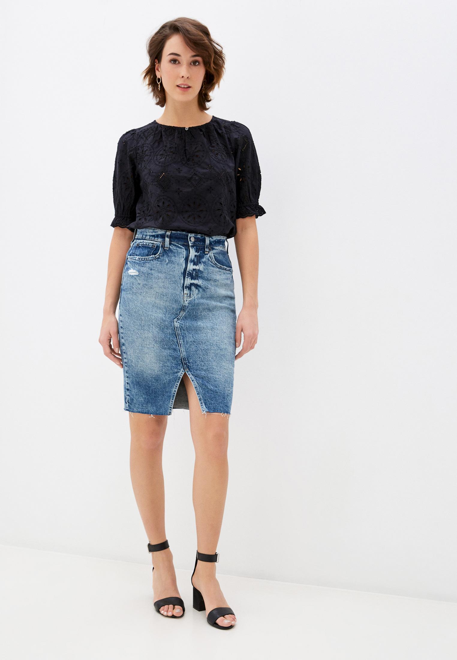 Джинсовая юбка Gap 600558: изображение 2