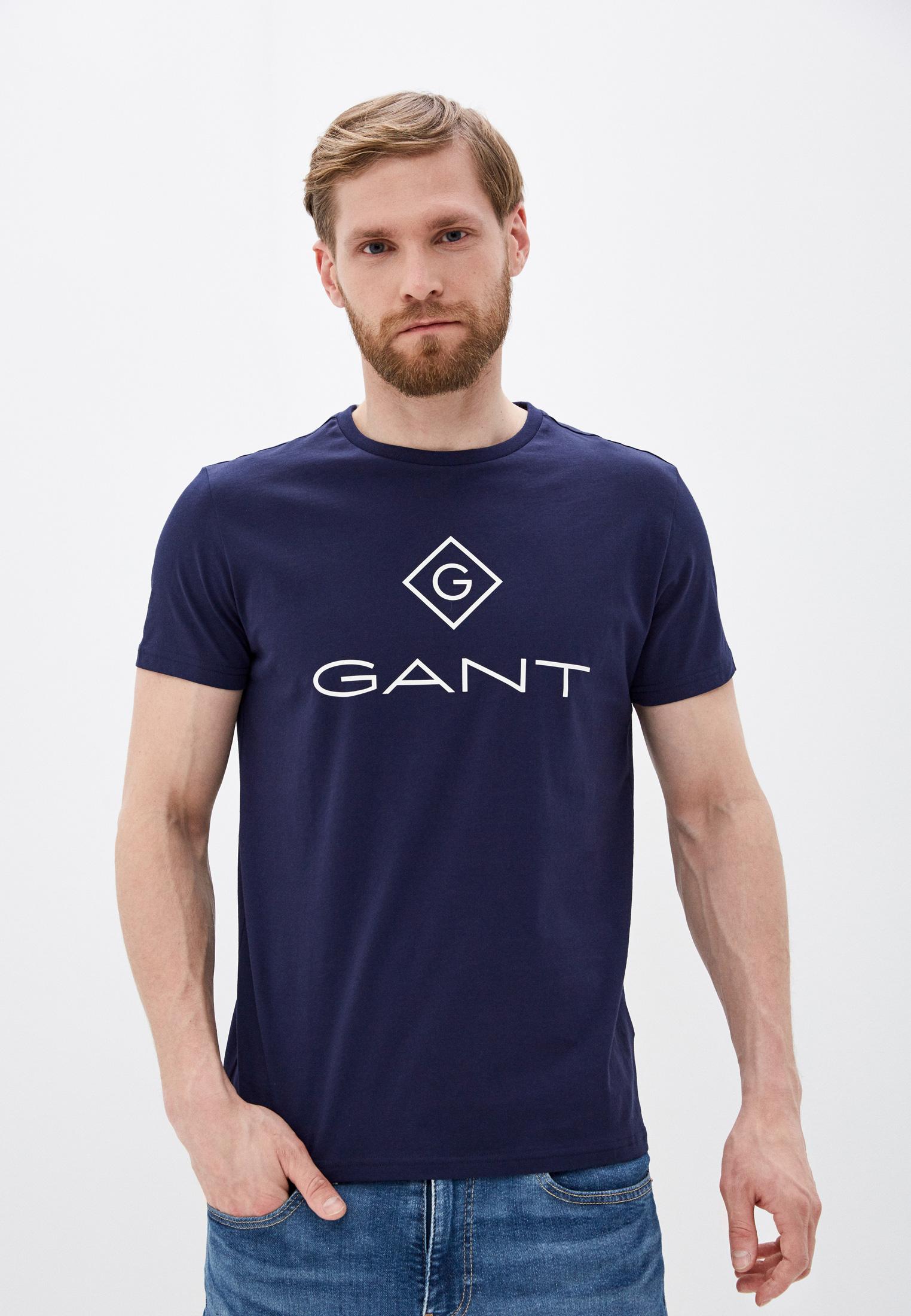 Футболка с коротким рукавом Gant (Гант) 2023000