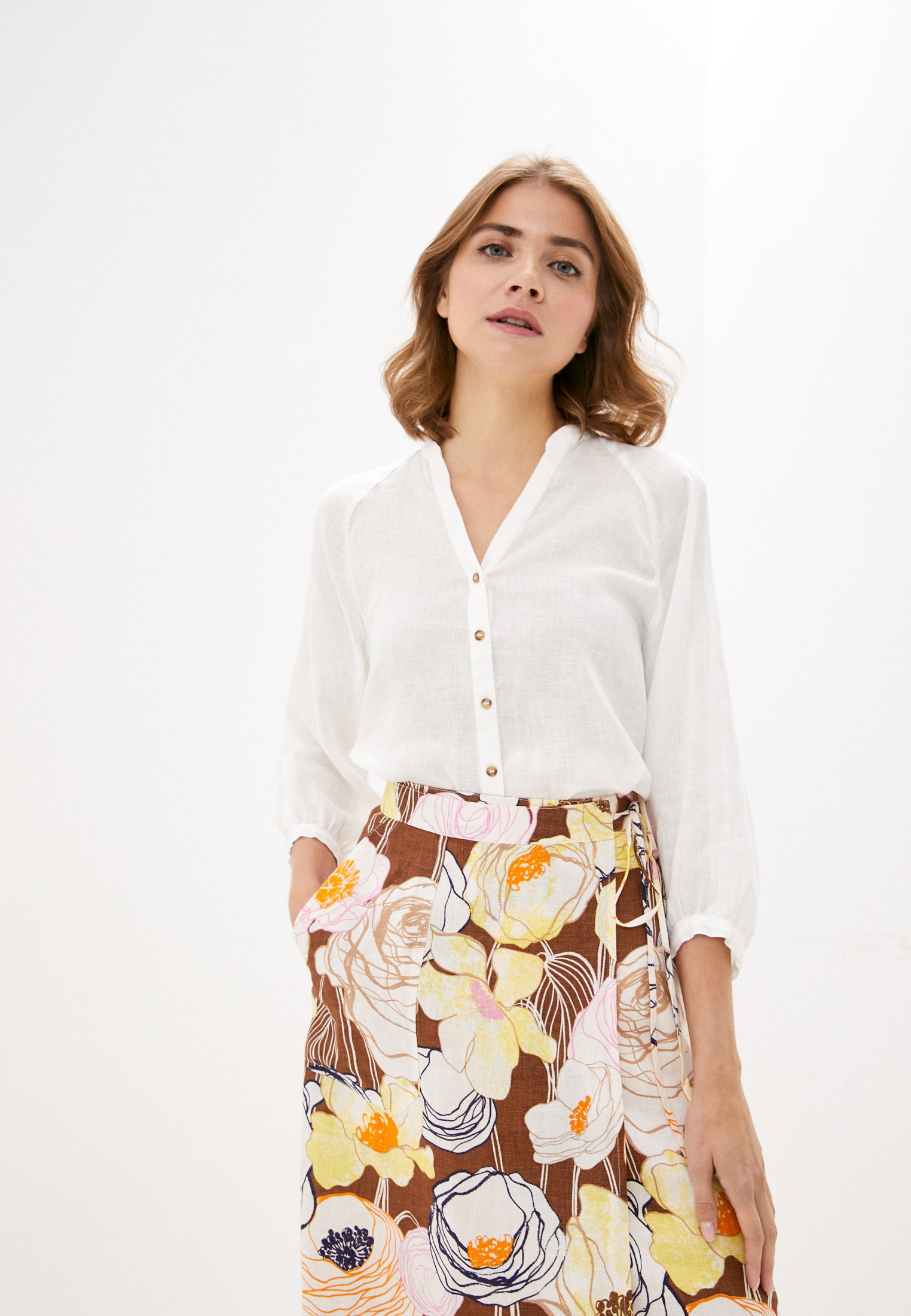 Женские рубашки с длинным рукавом Gerry Weber (Гарри Вебер) 360051-31540
