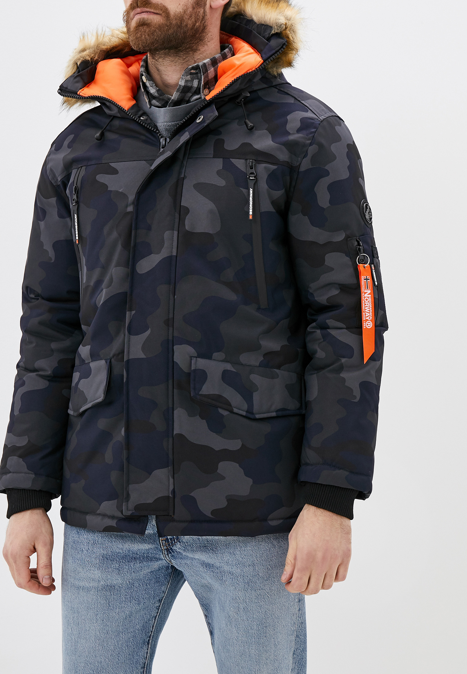 Куртка Geographical Norway WR065H/GN