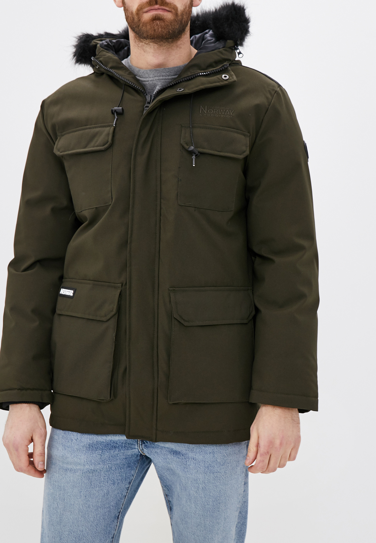 Утепленная куртка Geographical norway WR332H/GN
