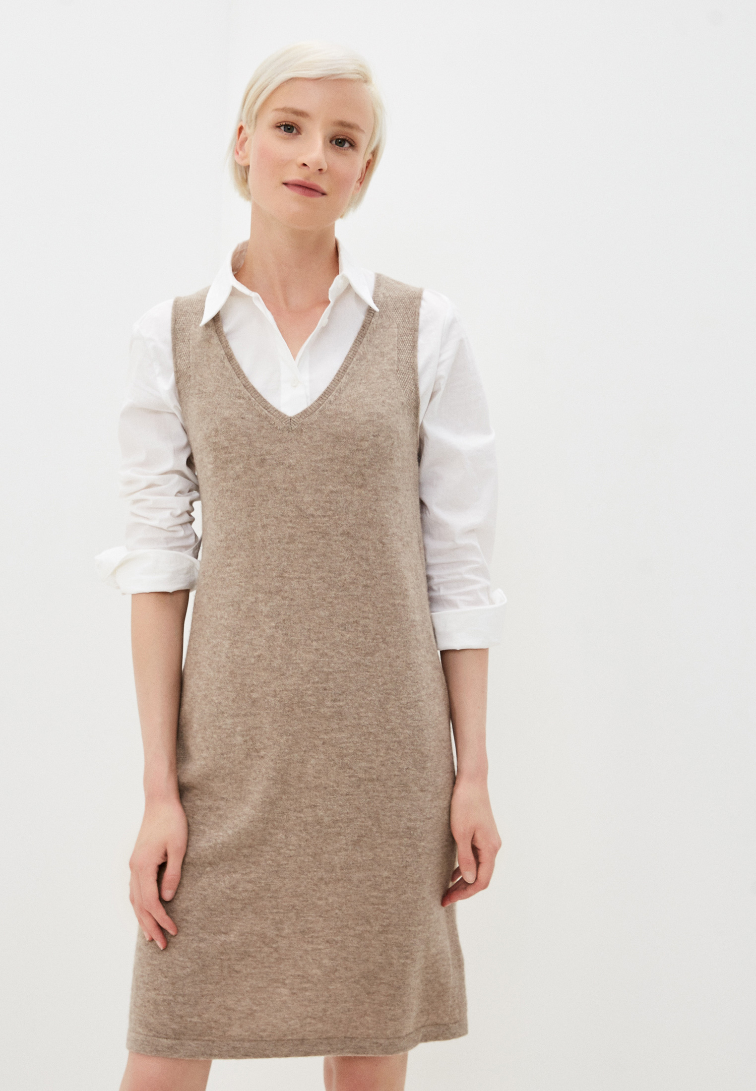 Вязаное платье GERARD DAREL Платье Gerard Darel