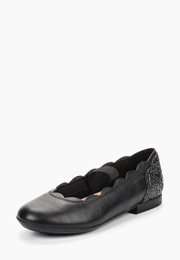Туфли для девочек Geox (Геокс) J8455B0BCEWC9999
