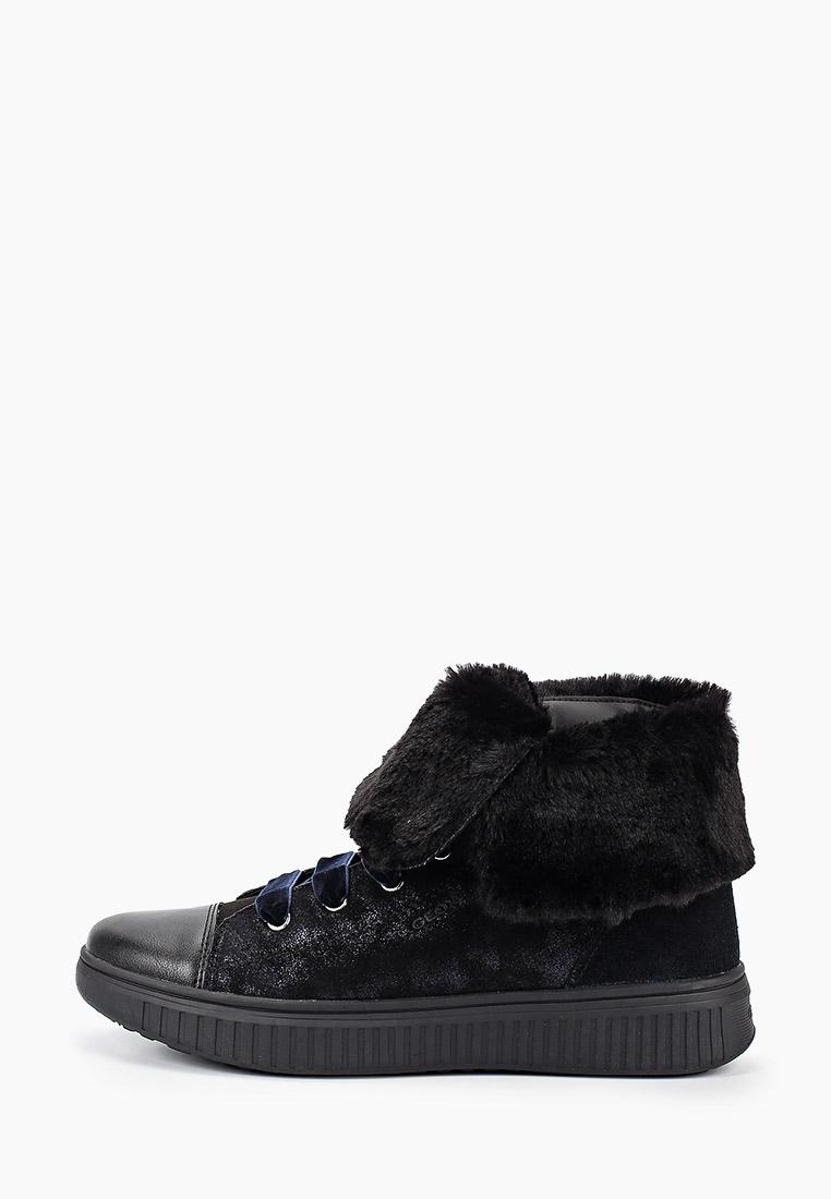 Ботинки для девочек Geox (Геокс) J947YB0MA22C9999