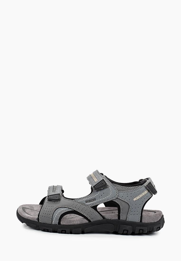 Мужские сандалии Geox (Геокс) U8224D0BC50C9014