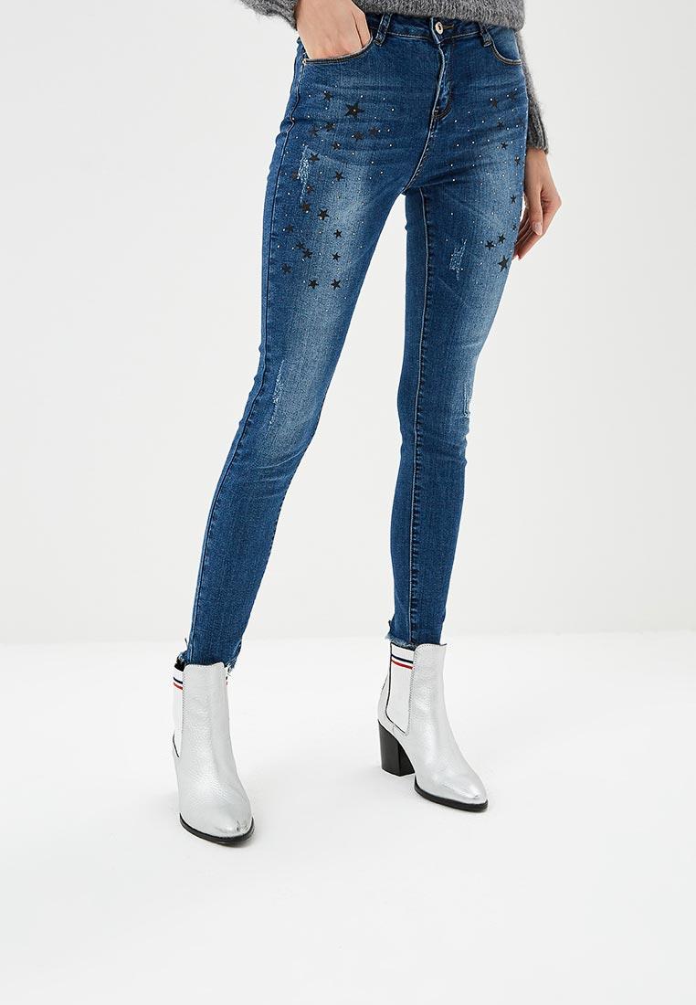 Зауженные джинсы G&G B014-T802