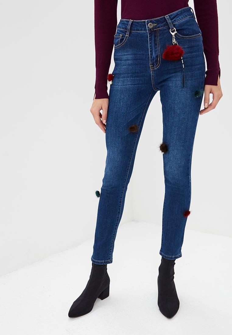 Зауженные джинсы G&G B014-T181