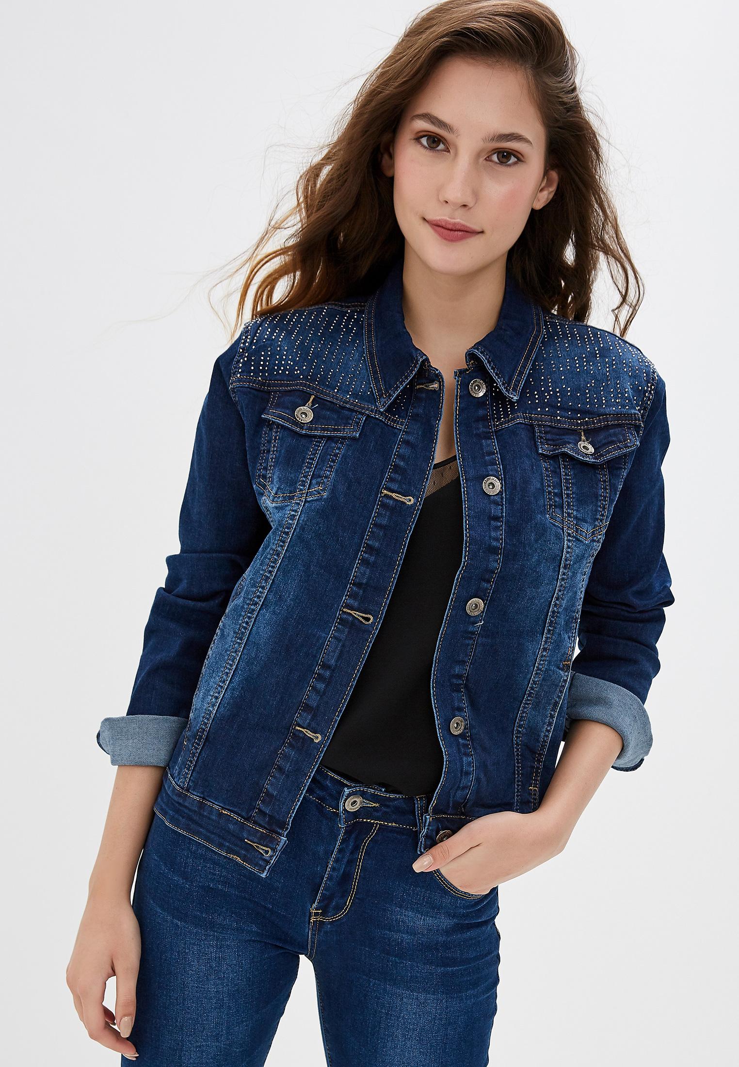 Джинсовая куртка G&G B014-L043