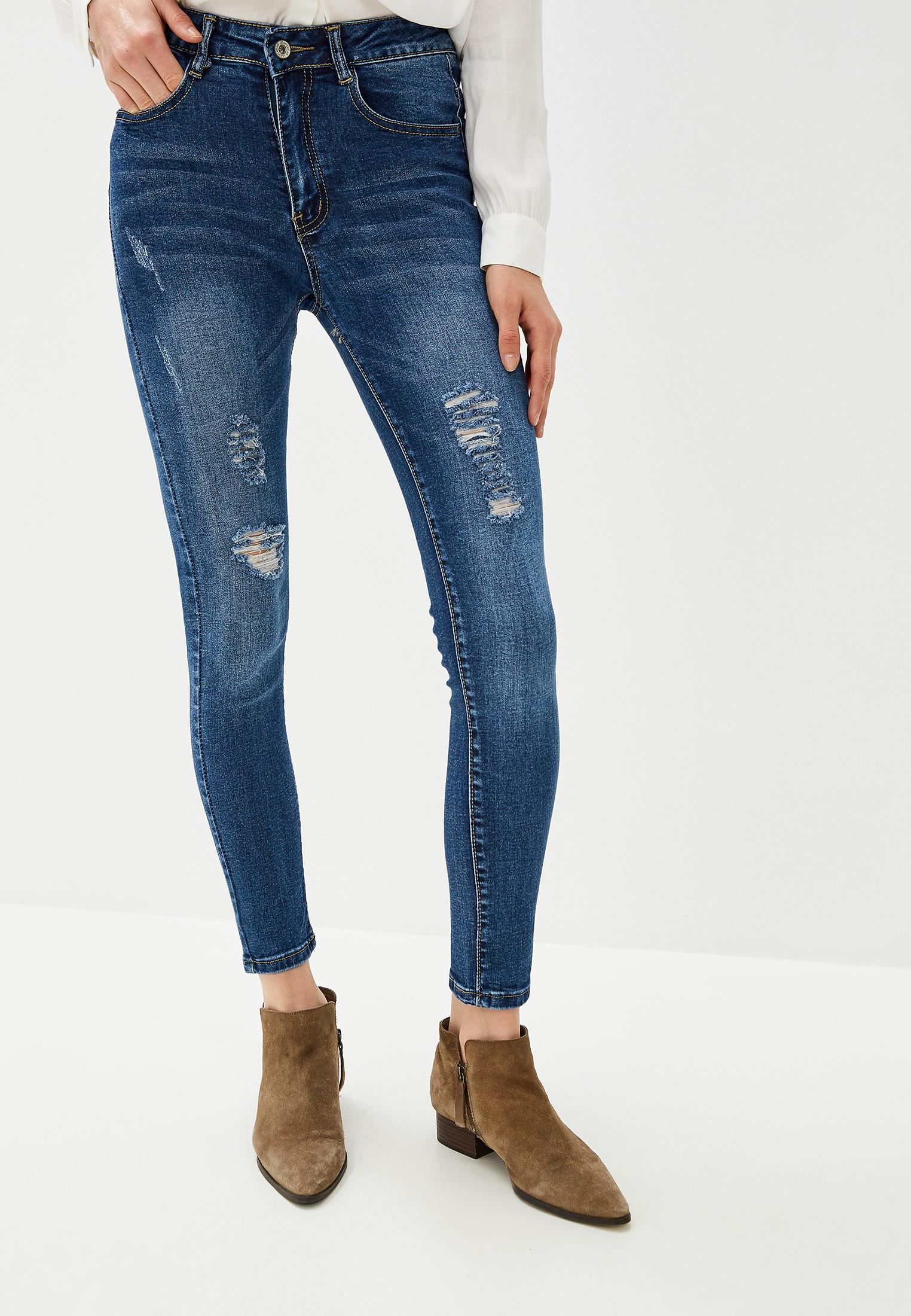 Зауженные джинсы G&G B014-YL501