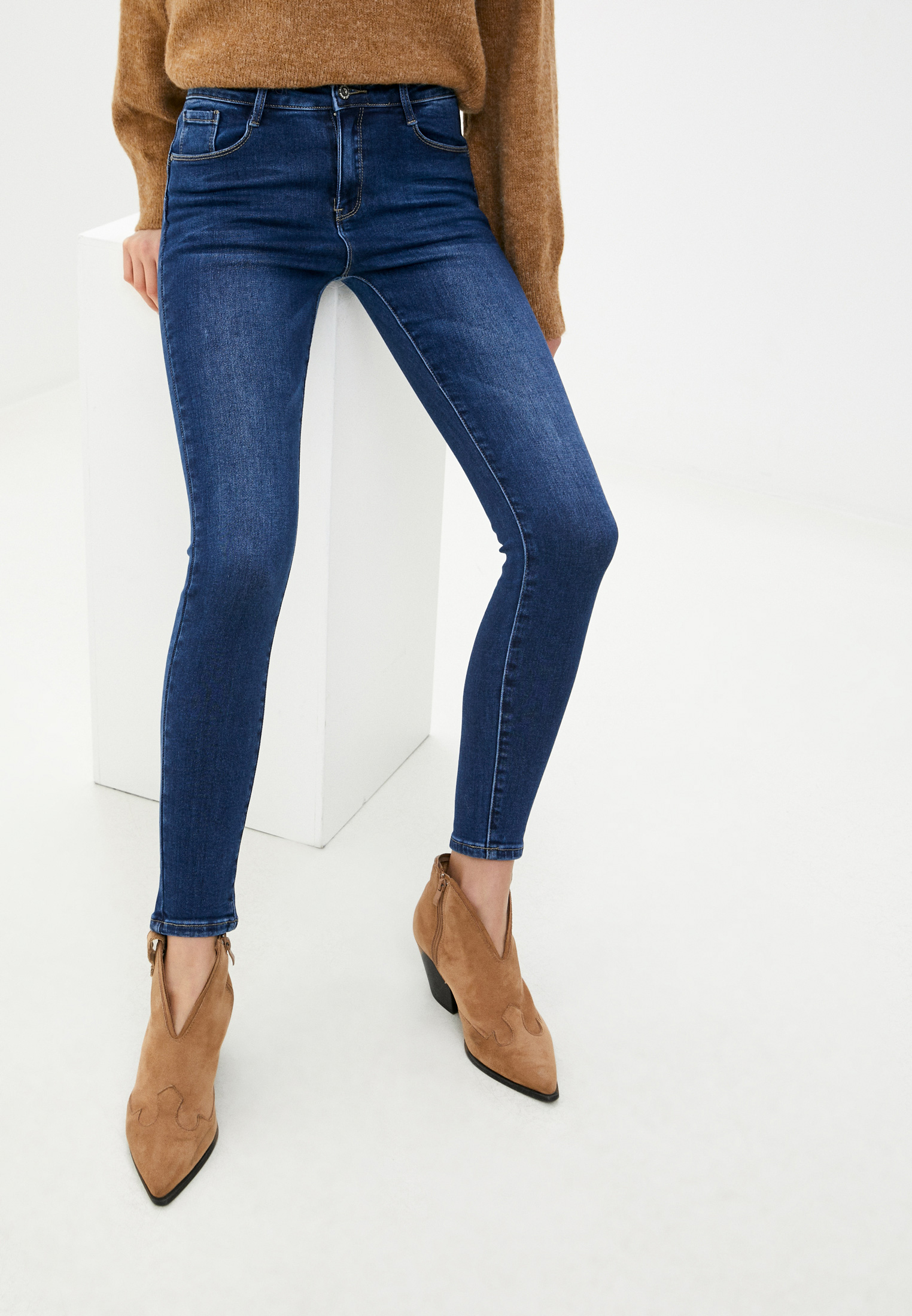 Зауженные джинсы G&G B014-W609