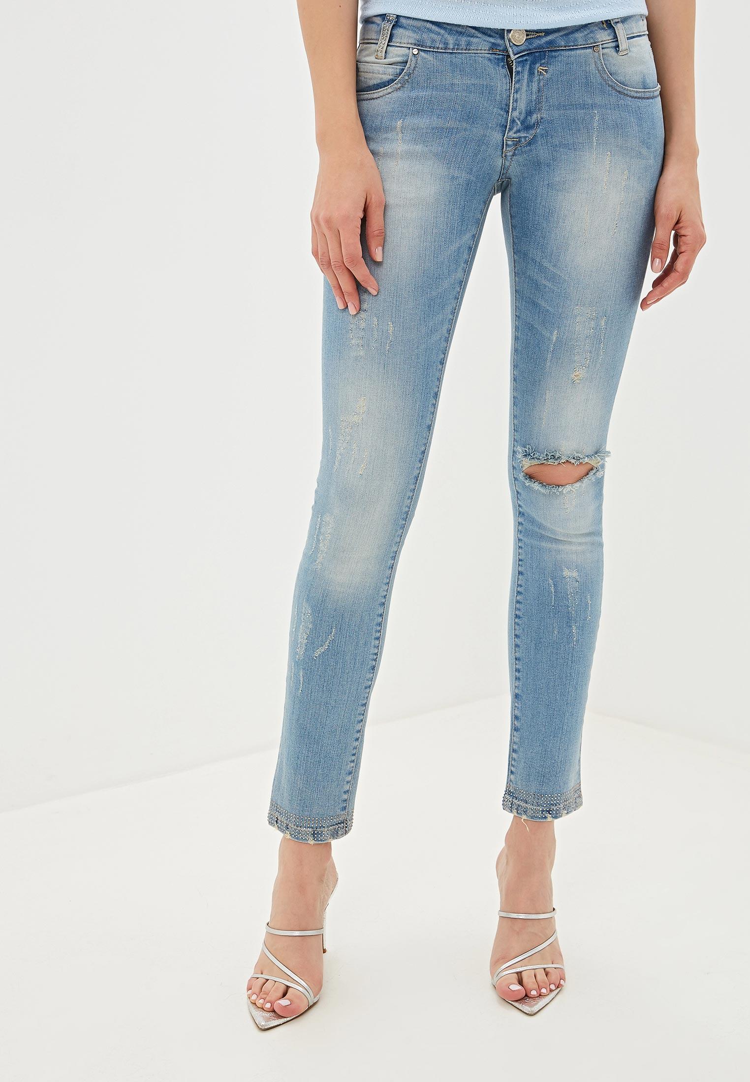 Зауженные джинсы GIORGIO DI MARE GI9313285