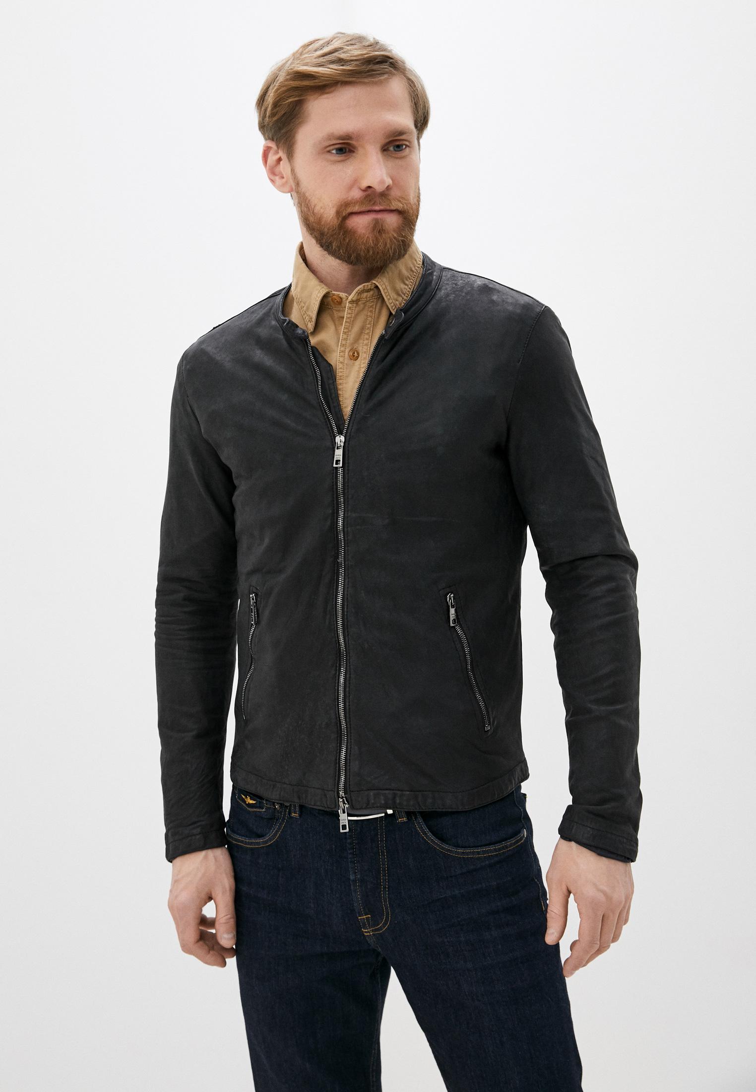 Кожаная куртка GIORGIO BRATO GU20S9498VBRUSH