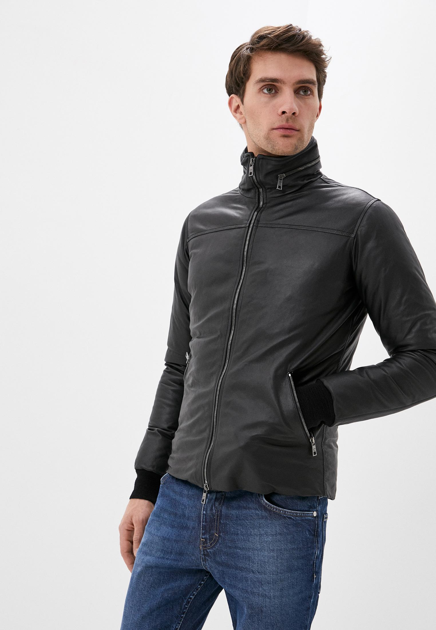 Кожаная куртка GIORGIO BRATO GU21F9026BISCRTFEAR