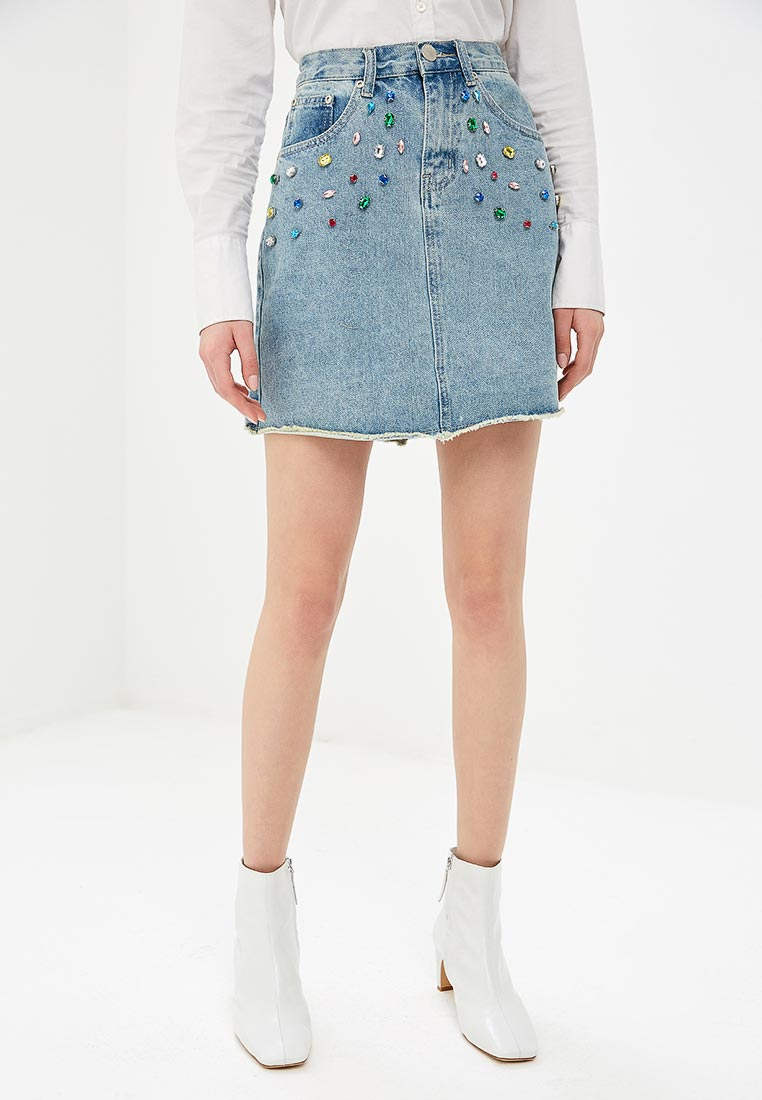 Джинсовая юбка GLAMOROUS AC2372