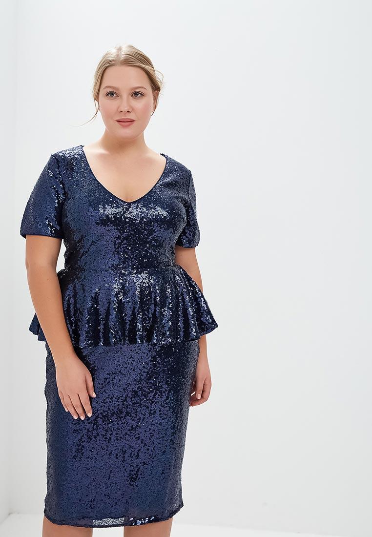 Вечернее / коктейльное платье Goddiva Size Plus DR1785P