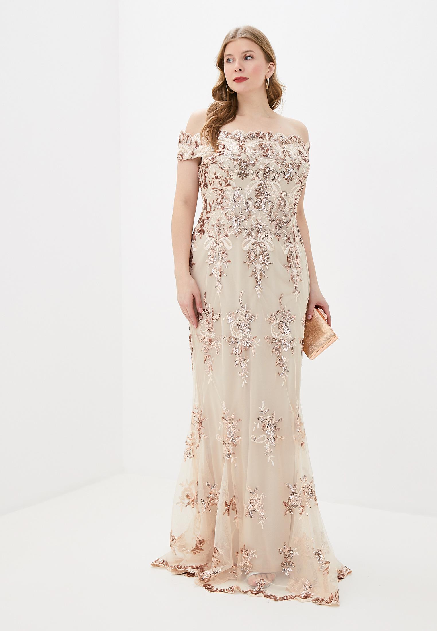 Вечернее / коктейльное платье Goddiva Size Plus DR1254P