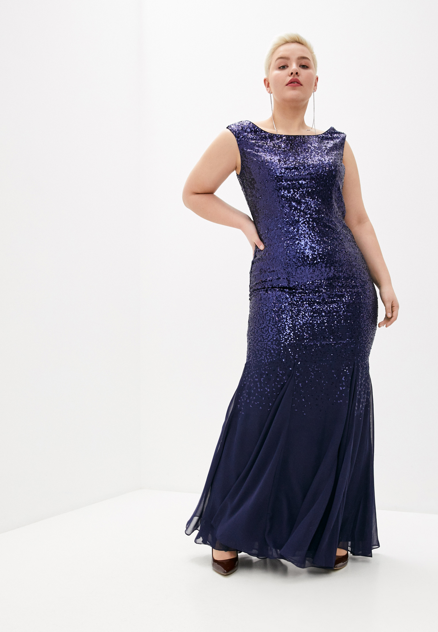 Вечернее / коктейльное платье Goddiva Size Plus DR2092QZ