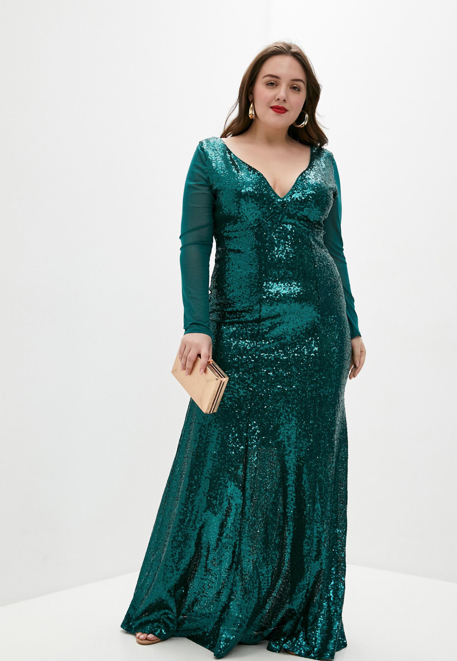 Вечернее / коктейльное платье Goddiva Size Plus DR1009P