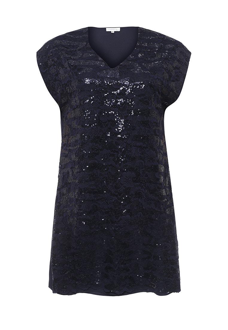 Платье-мини Goddiva Size Plus DR974P