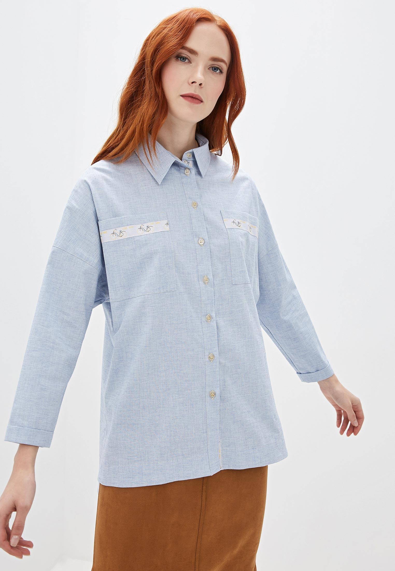 Женские рубашки с длинным рукавом Gregory G0632BL12F