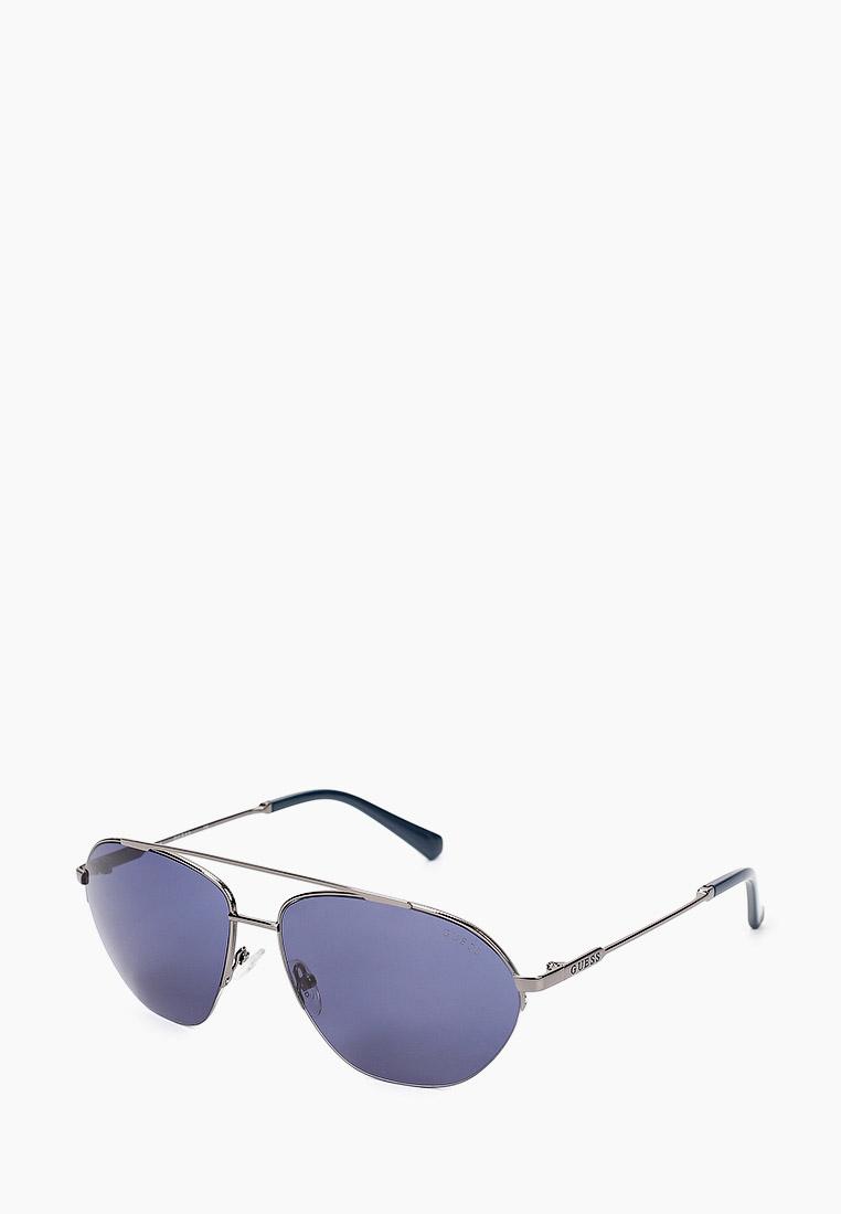 Мужские солнцезащитные очки Guess (Гесс) GUS 00010 08V 61