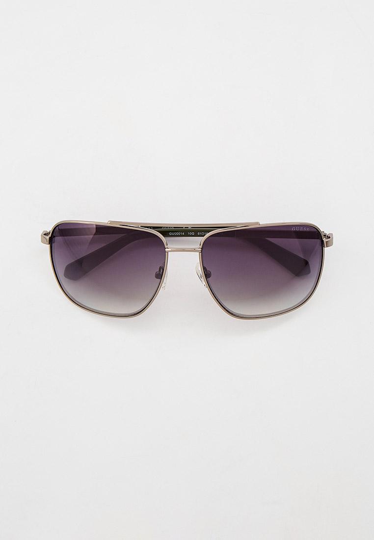 Мужские солнцезащитные очки Guess (Гесс) GUS 00014 10Q 61