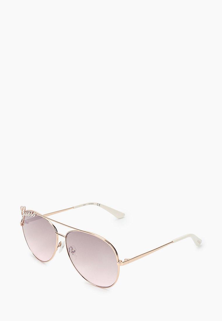 Женские солнцезащитные очки Guess (Гесс) GUS 7739 28G 64: изображение 1