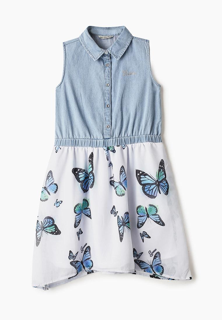 Повседневное платье Guess (Гесс) J01K25 W7RL0