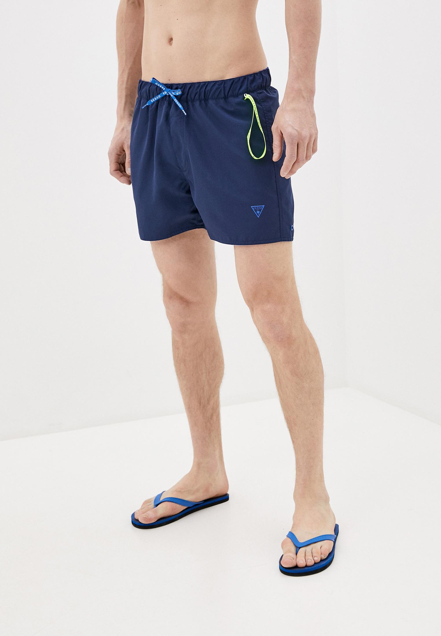 Мужские шорты для плавания Guess (Гесс) F02T08 TEL60