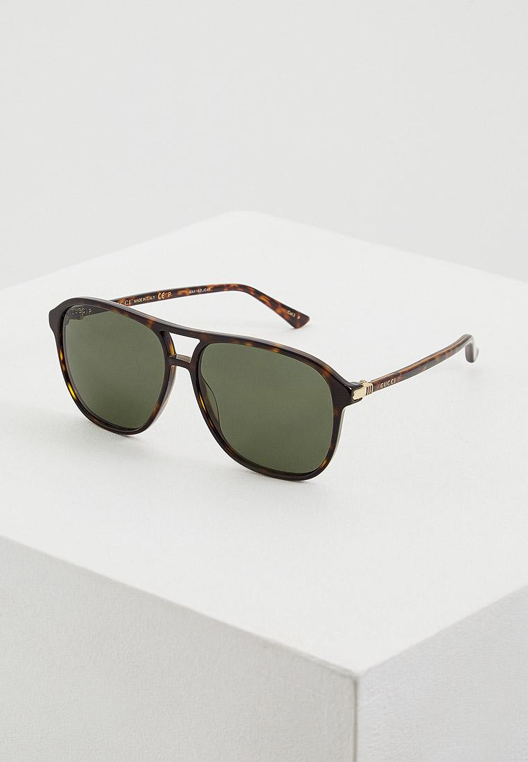 Мужские солнцезащитные очки Gucci (Гуччи) GG0016S
