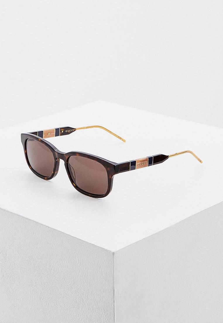 Мужские солнцезащитные очки Gucci (Гуччи) GG0602S