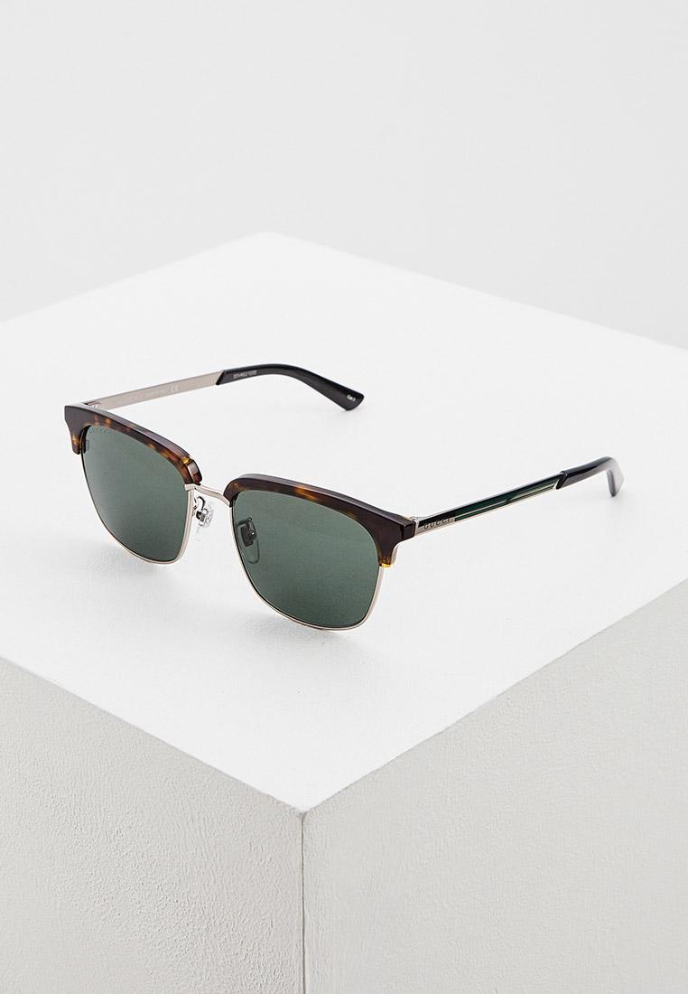 Мужские солнцезащитные очки Gucci (Гуччи) GG0697S