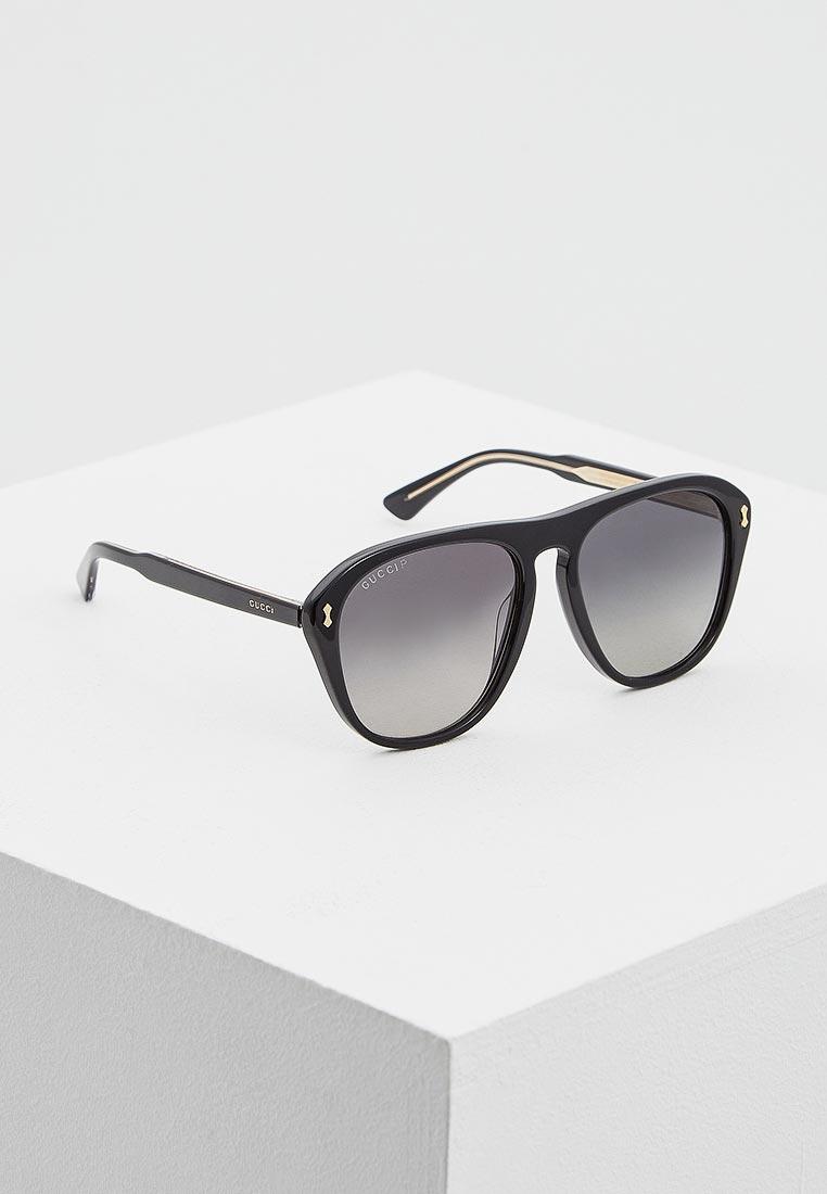 Мужские солнцезащитные очки Gucci (Гуччи) GG0128S
