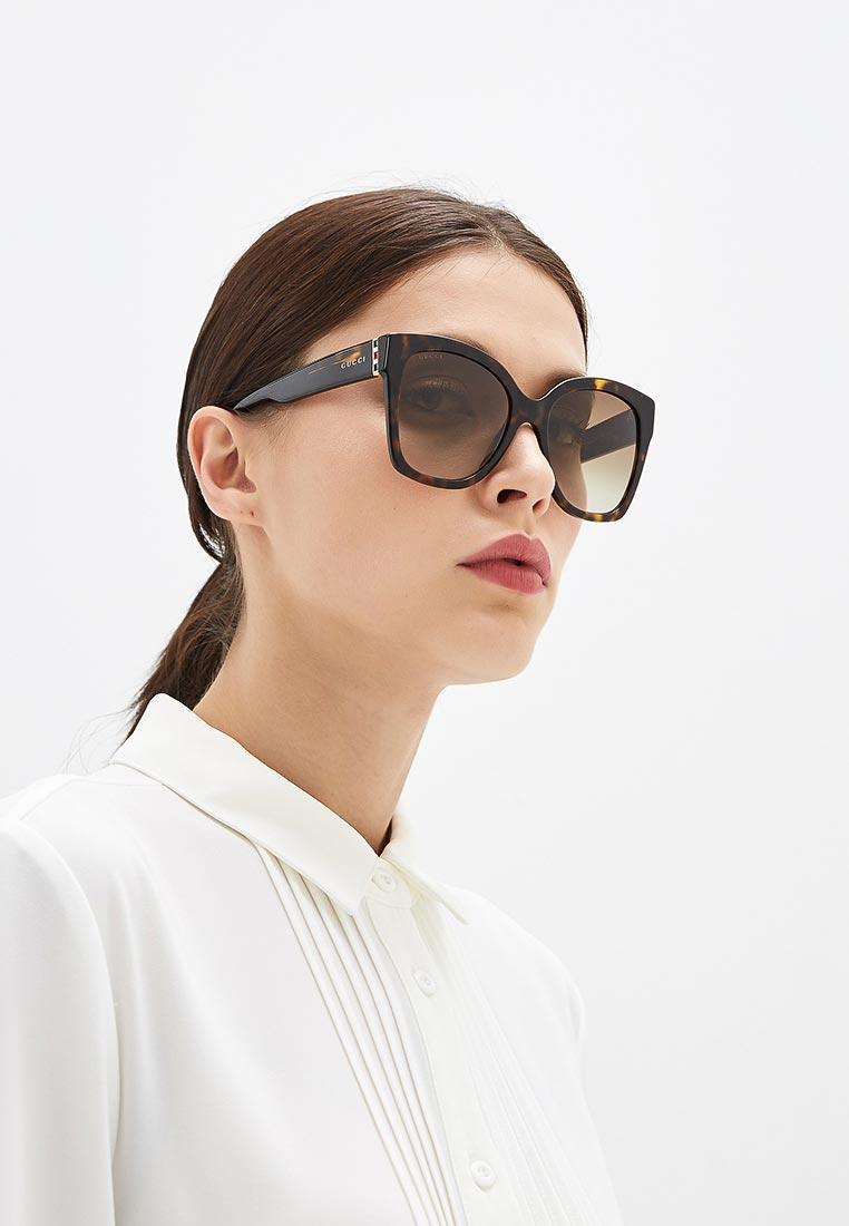 Женские солнцезащитные очки Gucci (Гуччи) GG0459S