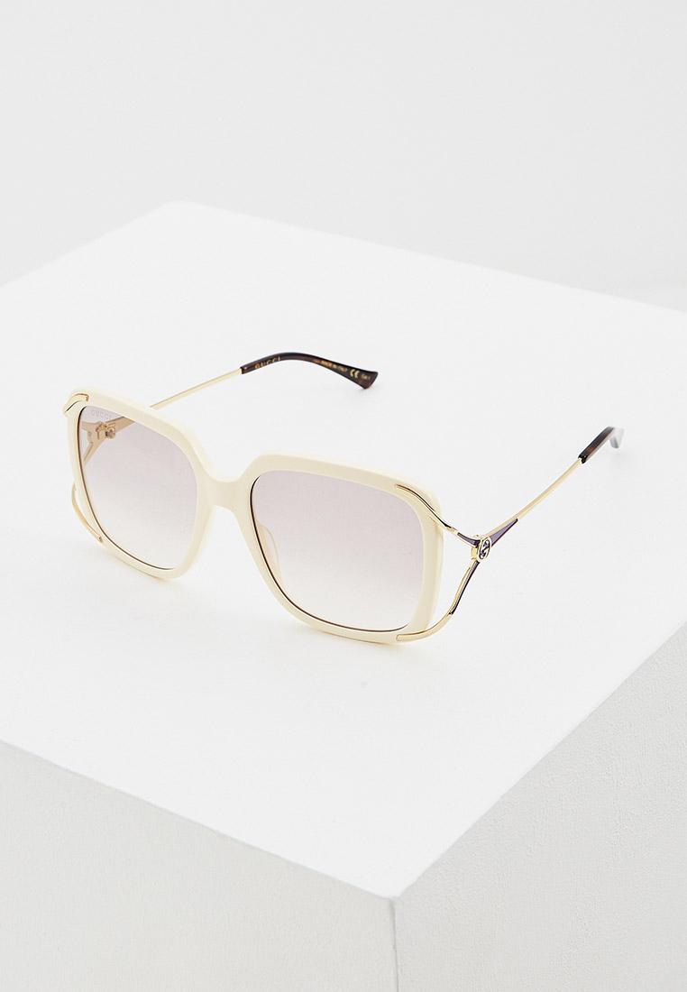 Женские солнцезащитные очки Gucci (Гуччи) GG0647S