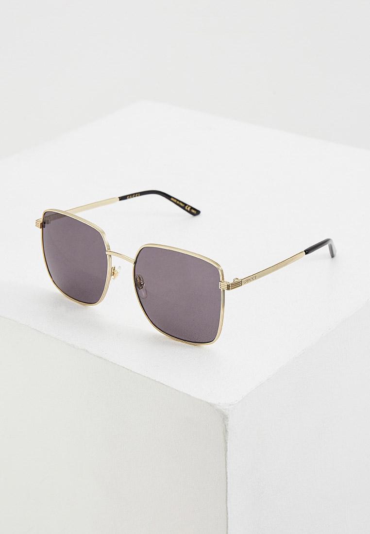 Женские солнцезащитные очки Gucci (Гуччи) GG0802S