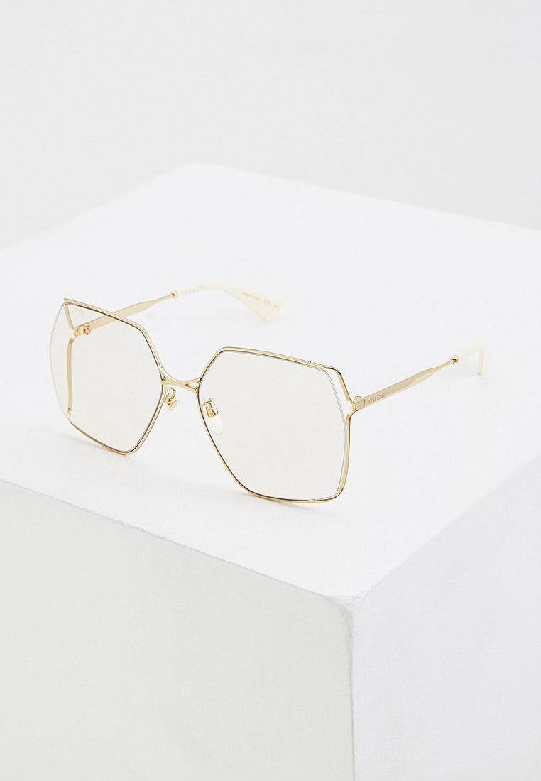Женские солнцезащитные очки Gucci (Гуччи) GG0817S