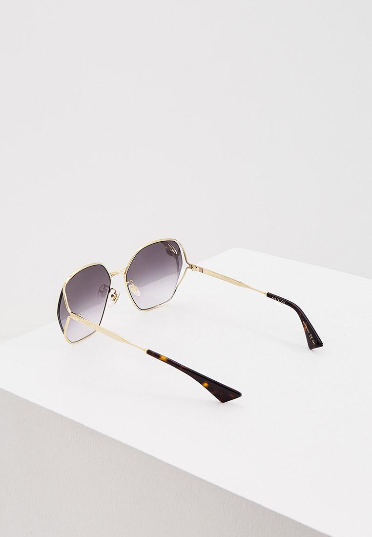 Женские солнцезащитные очки Gucci (Гуччи) GG0818SA: изображение 3