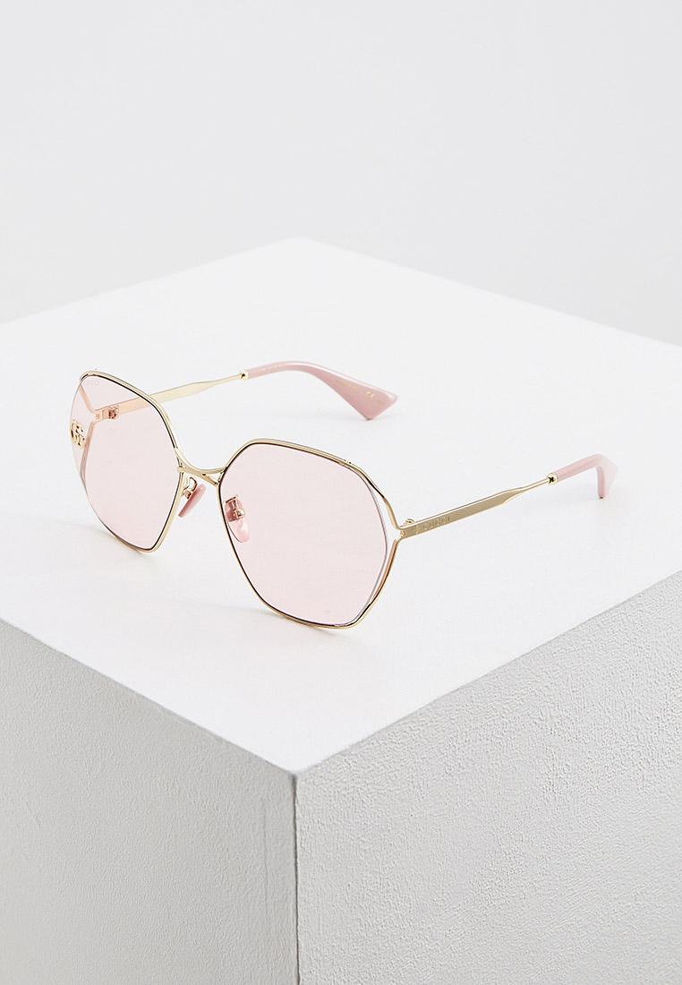 Женские солнцезащитные очки Gucci (Гуччи) GG0818SA: изображение 7