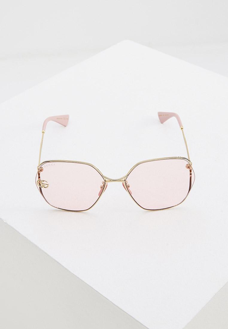 Женские солнцезащитные очки Gucci (Гуччи) GG0818SA: изображение 8