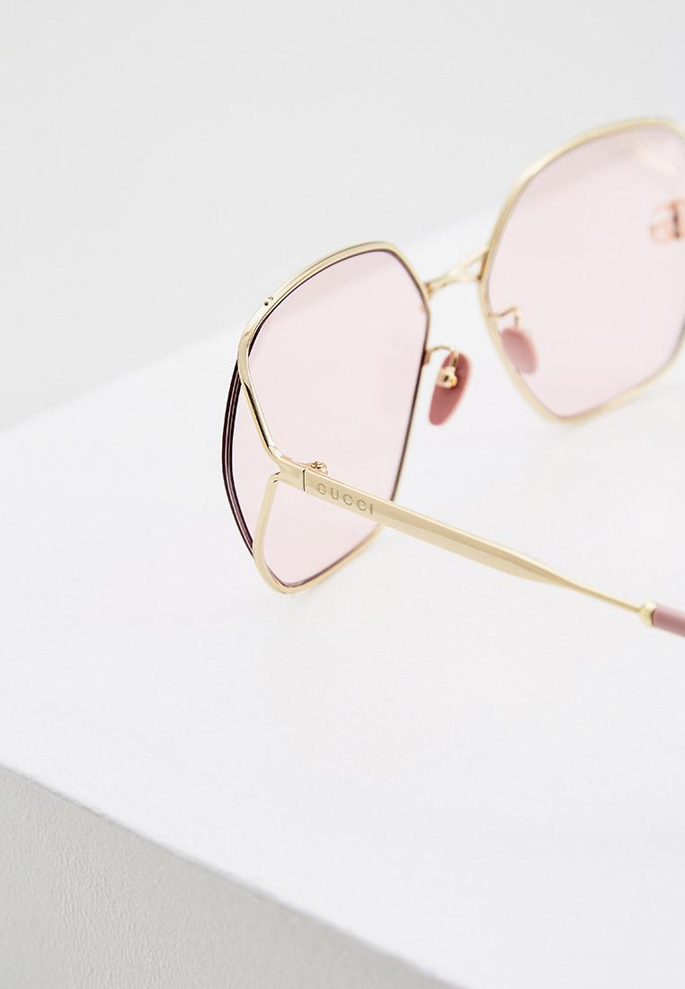 Женские солнцезащитные очки Gucci (Гуччи) GG0818SA: изображение 10