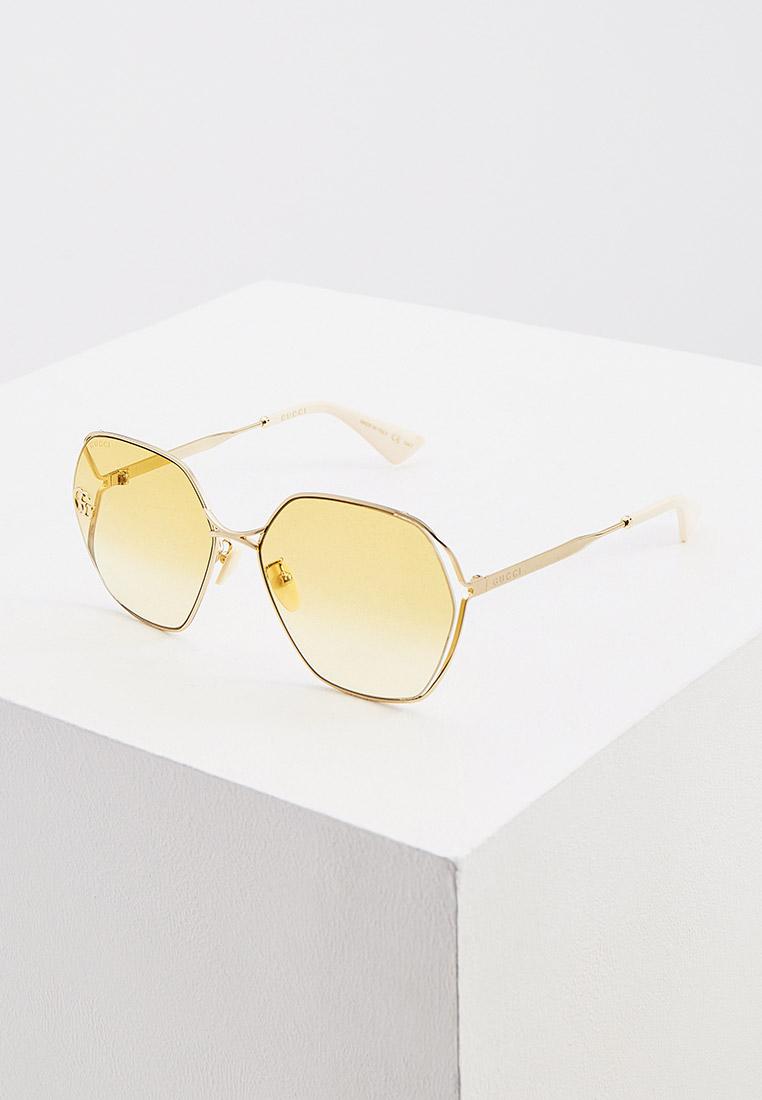 Женские солнцезащитные очки Gucci (Гуччи) GG0818SA: изображение 12