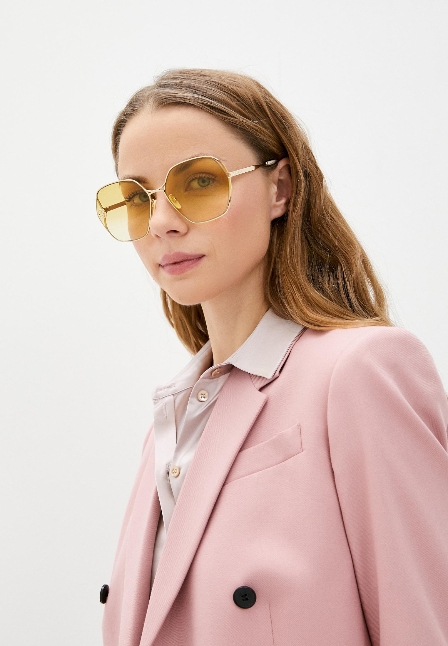Женские солнцезащитные очки Gucci (Гуччи) GG0818SA: изображение 17