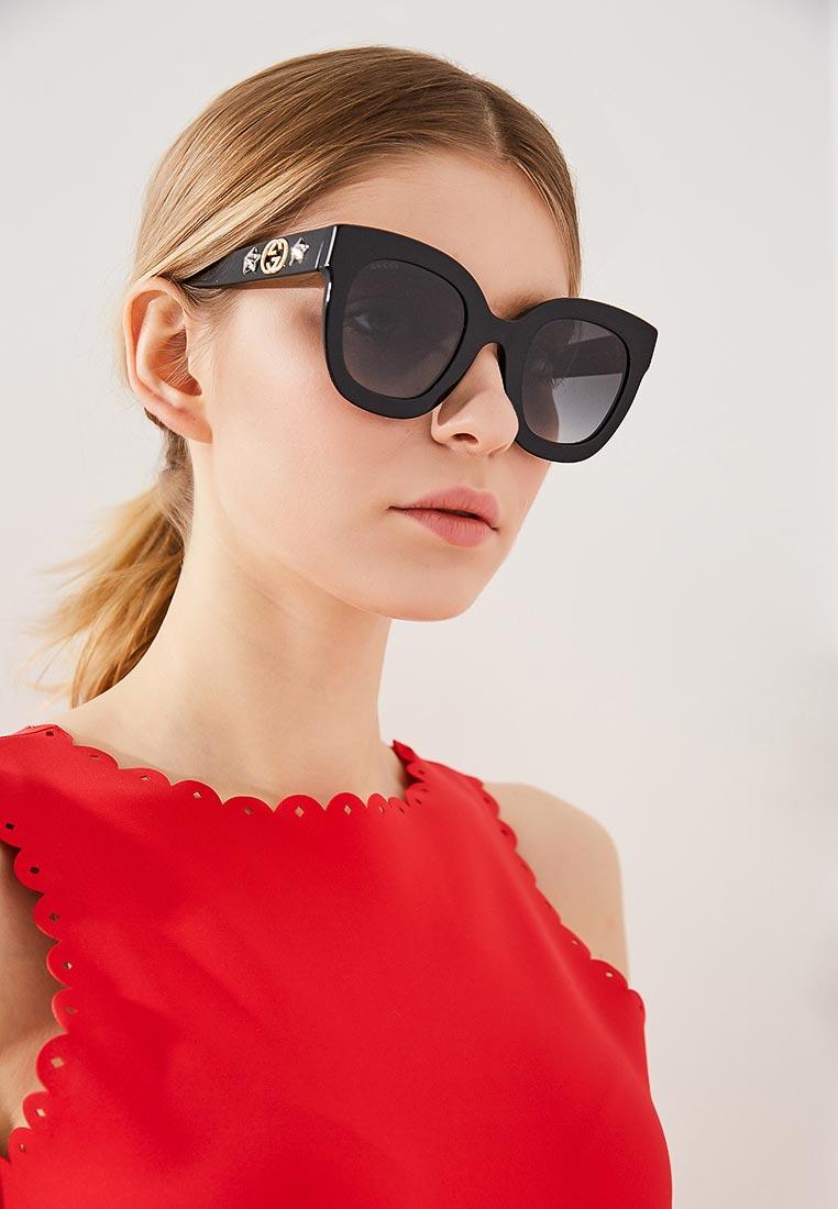 Женские солнцезащитные очки Gucci (Гуччи) GG0208S
