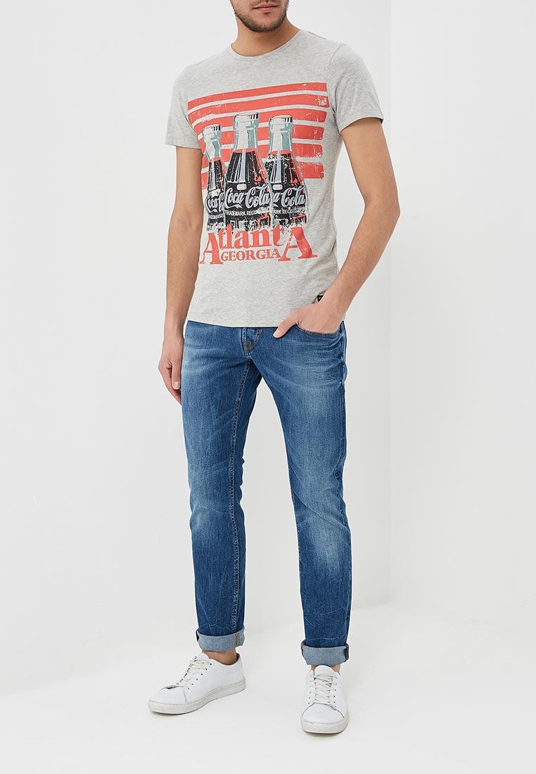 Мужские прямые джинсы Guess Jeans M82AS3 D1EQA: изображение 2