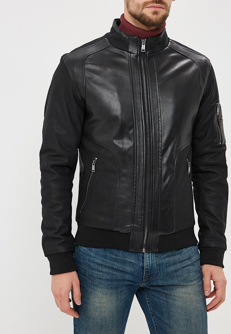 Кожаная куртка Guess Jeans M83L06 WAB60