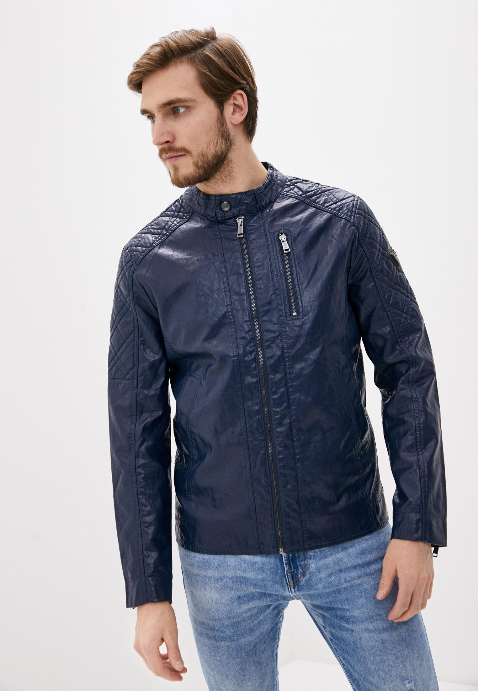 Кожаная куртка Guess Jeans M02L46 WCQD0